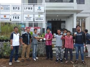 Penyerahan KTP el di Desa Bumirejo Kecamatan Mojotengah