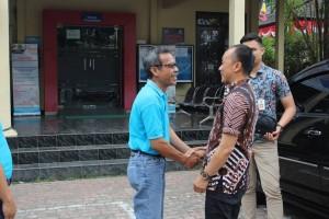 Kunjungan Direktur Jenderal Kependudukan dan Pencatatan Sipil